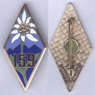Insigne Du 159e Régiment D'Infanterie Alpine - Armée De Terre