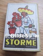 Boîte D'allumettes - Cafés - Koffies - STORME - Mouscron - Moeskroen - Mexicain Jardinier (pleine) - Boites D'allumettes
