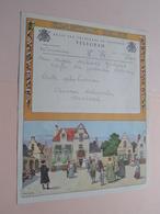 TELEGRAM Voor Mme DeKnop Goderis Café DE JORDAAN In Stadenstraat ZARREN > Anno 1957 ( Afzender Woumen ) ! - Faire-part