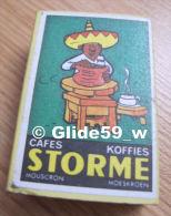 Boîte D'allumettes - Cafés - Koffies - STORME - Mouscron - Moeskroen - Mexicain Potier (pleine) - Boites D'allumettes