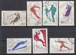 ROEMENIË - Michel - 1961 - Nr 1951/57 - Gest/Obl/Us - Oblitérés