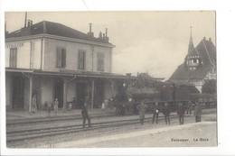 21449 - Estavayer-le-Lac Estavayer La Gare Locomotive Train - FR Fribourg
