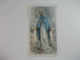 SANTINO HOLY PICTURE ORAZIONE DI S. BERNARDO A MARIA SS.MA IMMACCOLATA 2/28i - Religione & Esoterismo
