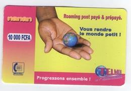 BURKINA FASO ONATEL NANAN 10.000 CFA 10000 TELECARTE PHONE CARD - Burkina Faso