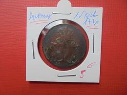 DANEMARK 1 SKILLING 1771  (A.6) - Denmark