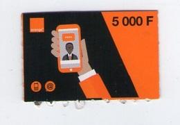BURKINA FASO ORANGE 5.000 CFA 5000 TELECARTE PHONE CARD - Burkina Faso