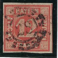 Allemagne, Bayern, N° 7 Oblitéré TB - Bavière