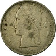 Monnaie, Belgique, Franc, 1951, TB, Copper-nickel, KM:143.1 - 1951-1993: Baudouin I