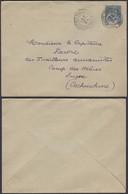INDOCHINE EP 15c DE SAIGON 03/01/1897 VERS LE CAMP DES MARES COCHINCHINE (DD) DC-1977 - Indochine (1889-1945)