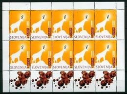 Slowenien Kleinbogen MiNr. 186 Postfrisch MNH Cept 1997 (O5183 - Slowenien