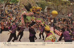 Postkaarten Japan THE DRAGON DANCE IN NAGASAKI - Altri