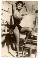Tarjeta Postal Gina Lollobrigida - Artistas