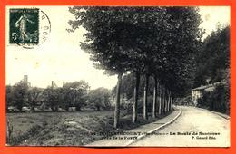"""CPA 52 Doulaincourt """" La Route De Saucourt Près De La Forge """" - Doulaincourt"""