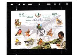 (Cl. B;) - 15 Ans Oiseaux Buzin  (Signé Par Mr Buzin à L'arrière) Voir Scan - 1985-.. Oiseaux (Buzin)