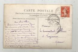 Sur Carte Postale , BRION.S.OURCE , Cote D'Or,1913, 3 Scans - 1877-1920: Période Semi Moderne