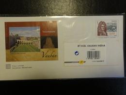 Pap - Patrimoine Vauban Du Sud-ouest-lot De 5 Enveloppes Sous Blister - Tarif International3809- YT 4031 - Entiers Postaux