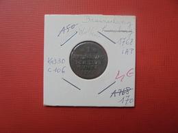 BRAUNSCHWEIG-WOLFENBÜTTEL 1 PFENNIG 1768 (A.6) - Monedas Pequeñas & Otras Subdivisiones