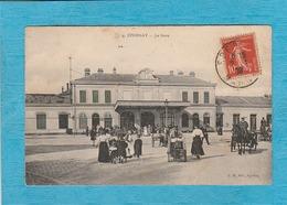 Épernay, 1908. - La Gare. - Attelage. - Epernay