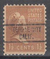 USA Precancel Vorausentwertung Preo, Locals California, Temple City 734 - Vereinigte Staaten
