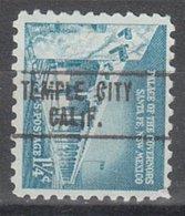 USA Precancel Vorausentwertung Preo, Locals California, Temple City 748 - Vereinigte Staaten