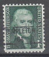 USA Precancel Vorausentwertung Preo, Locals California, Templeton 841 - Vereinigte Staaten