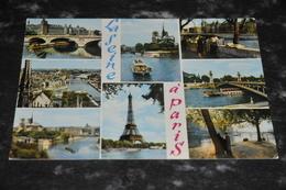 5013      LA SEINE A PARIS - Statues
