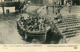 SIERRA LEONE(MILITAIRE ANGLAIS) FREETOWN - Sierra Leone