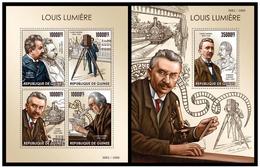 Guinea 2015 Louis Lumiere Klb + S/s MNH - Otros
