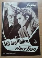 """Brigitte BARDOT & Jean GABIN In """"Mit Den Waffen Einer Frau"""" Mit Edwige Feuillère ... Altes IFB-Filmprogramm /a55 - Magazines"""