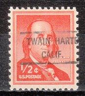 USA Precancel Vorausentwertung Preo, Locals California, Twain Harte 807 - Vereinigte Staaten