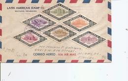 Nicaragua ( Lettre Recommandée Par Avion De 1947 De Managua Vers Les USA à Voir) - Nicaragua