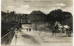 8774 - Meurthe Et Moselle  -  LONGUYON : LA COTE ET LE GRAND PONT  , Animée -   Circulée En 1924 - Longuyon