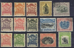 DO6604  LOT  NOORD BORNEO  ZIE SCAN - Timbres