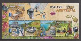 Australia ASC 3028MS 2012 Road Trip Australia Part I, Miniature Sheet,mint Never Hinged - 2010-... Elizabeth II