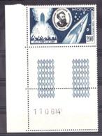 Monaco - 1955 - PA N° 60 - Neuf ** - Bord De Feuille - Jules Verne - Aéreo