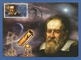 Moldova / Moldawien 2009  Mi.Nr. 651 , EUROPA - CEPT - Astronomie - Maximum Card - Erstausgabe Moldovei 14.09..2009 - Moldova