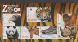 Australia ASC 3038MS 2012 Australian Zoos, Miniature Sheet,mint Never Hinged - 2010-... Elizabeth II