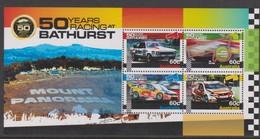 Australia ASC 3042MS 2012 50 Years Bathurst Racing, Miniature Sheet,mint Never Hinged - 2010-... Elizabeth II