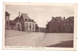 35 Livré-sur-Changeon  Un Coin De La Place - Autres Communes
