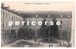 46  Figeac  Cour Intérieure De L'Hospice - Figeac