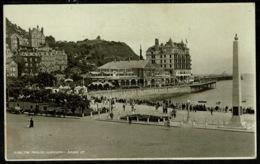 Ref 1268 - 1930 Judges Postcard - The Pavilion & War Memorial Llandudno - Caernarvonshire Wales - Caernarvonshire