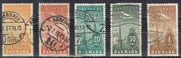 DO6606  DENEMARKEN GESTEMPELD YVERT NR LP6/10  ZIE SCAN - Poste Aérienne