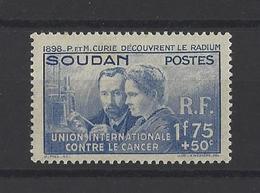 SOUDAN. YT  N° 99  Neuf *  1938 - Soudan (1894-1902)