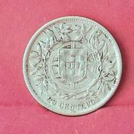 PORTUGAL 20 CENTAVOS 1913 - 5 GRS - 0,835 SILVER   KM# 562 - (Nº27514) - Portugal