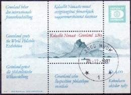 GROENLAND 1987 Blok Hafnia 87-2 GB-USED. - Greenland