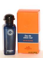 Miniatures De Parfum   EAU De CITRON NOIR De HERMES  EDC  7.5 Ml  + Boite - Miniatures Modernes (à Partir De 1961)
