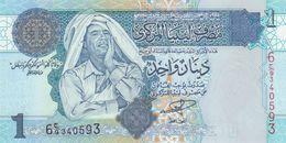 LIBYA - Libia  1 Dinar Nd.(2004) UNC P.68 A - Libia