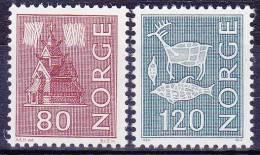 NOORWEGEN - Michel - 1972 - Nr 633/34 - MNH** - Noruega