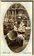 SIERRA LEONE(TYPE) RACOMMODEUSE DE PANIER - Sierra Leone
