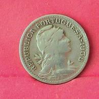 PORTUGAL 50 CENTAVOS 1938 -    KM# 577 - (Nº27516) - Portugal